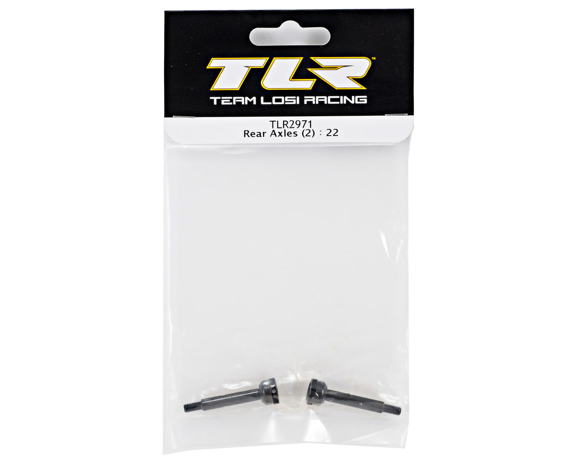 Team Losi Racing Rear Axle Set (2) (TLR 22)