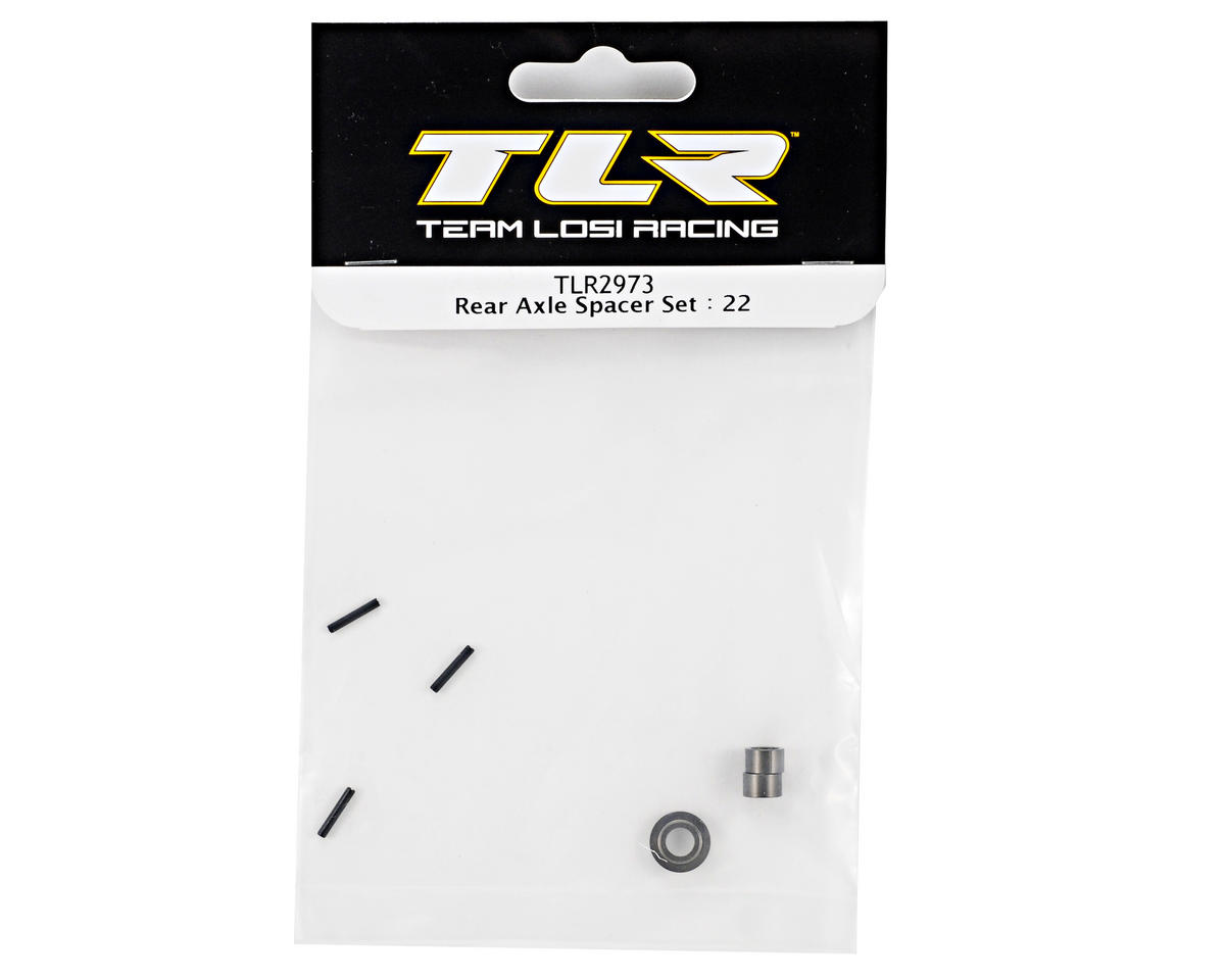 Team Losi Racing Rear Axle Spacer Set (TLR 22)