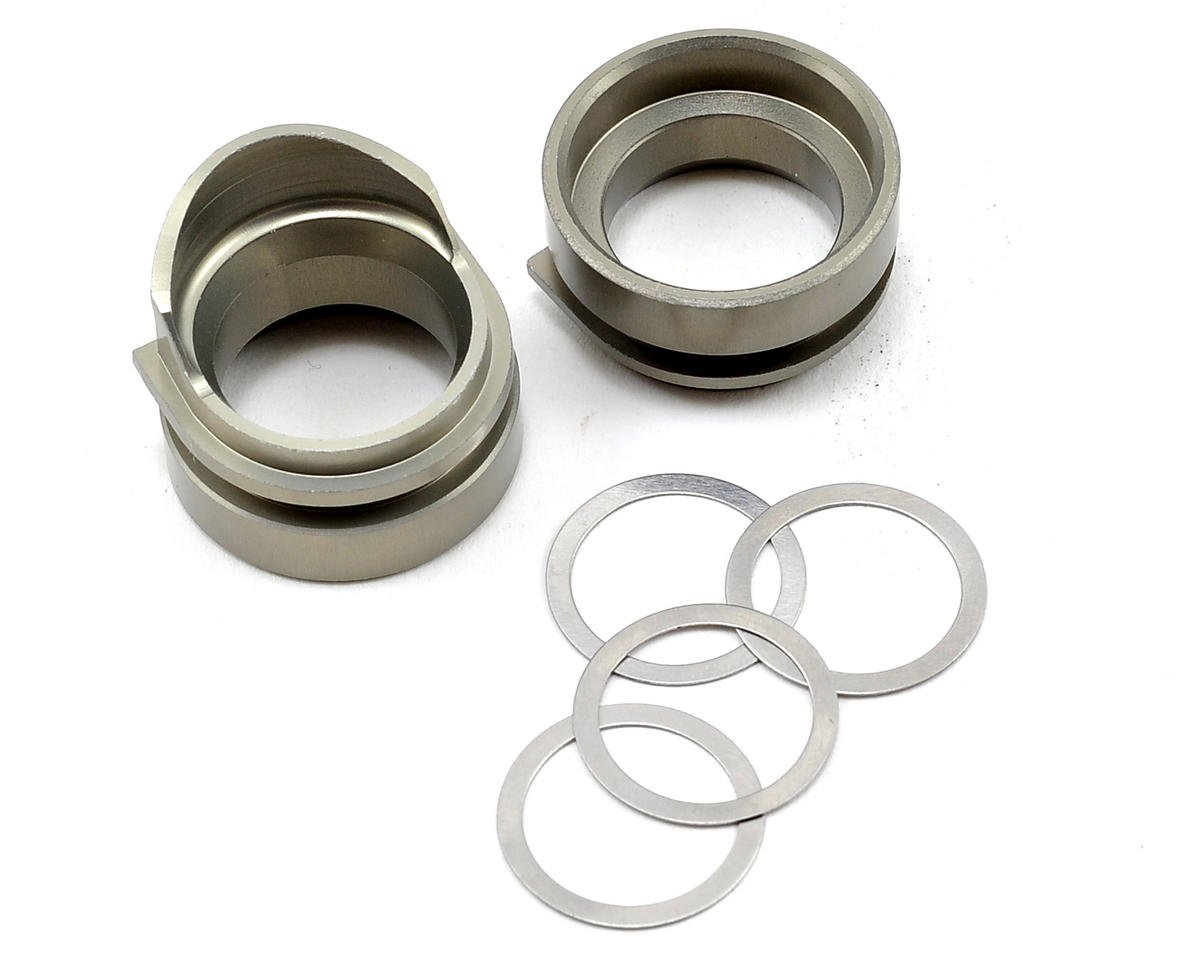Team Losi Racing Aluminum Rear Gearbox Bearing Insert Set (2)