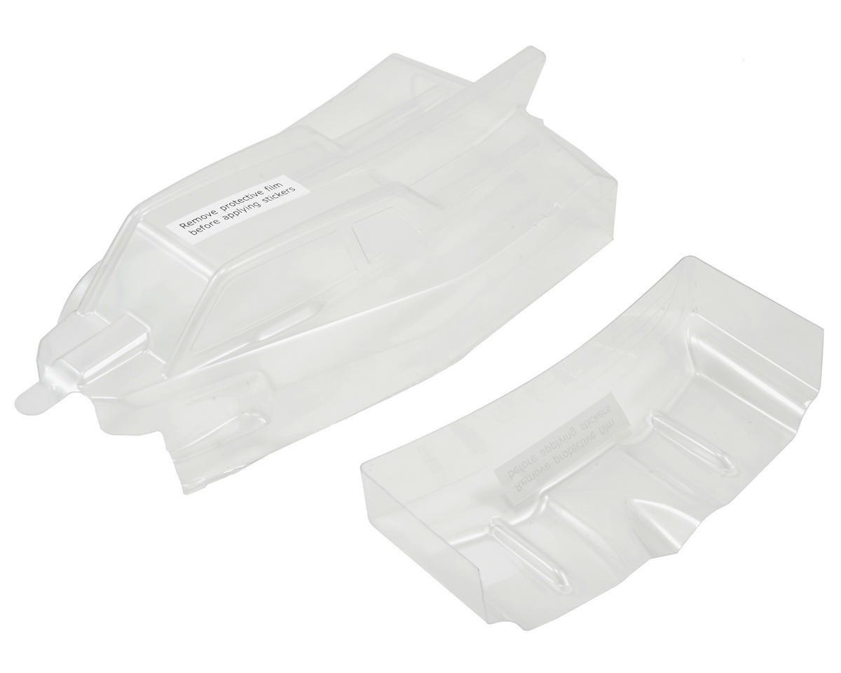 Team Losi Racing 22-4 Cab Forward Body Set (Clear)