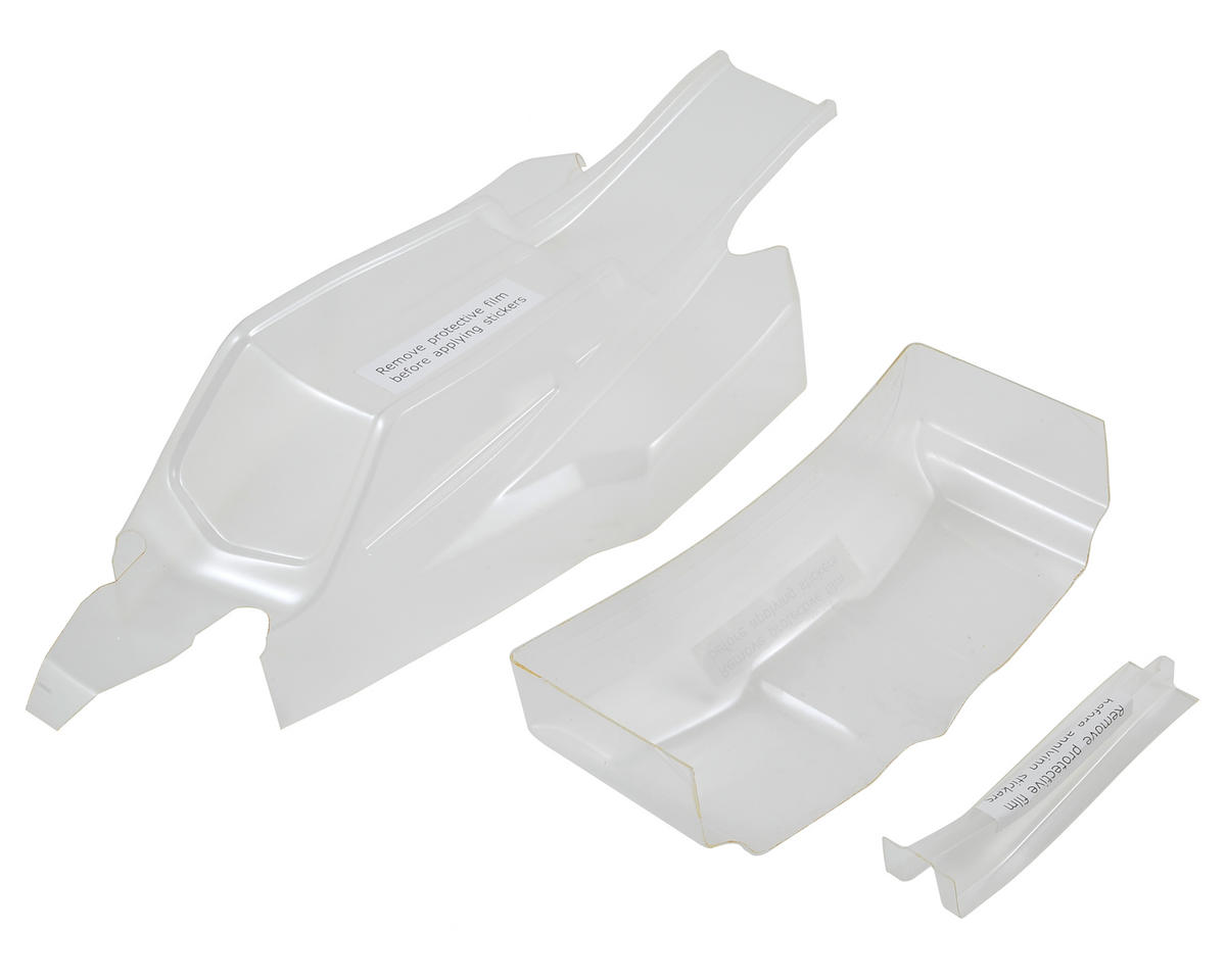 22 3.0 Ultra Lighweight Buggy Body & Wing Set (Clear) by Team Losi Racing