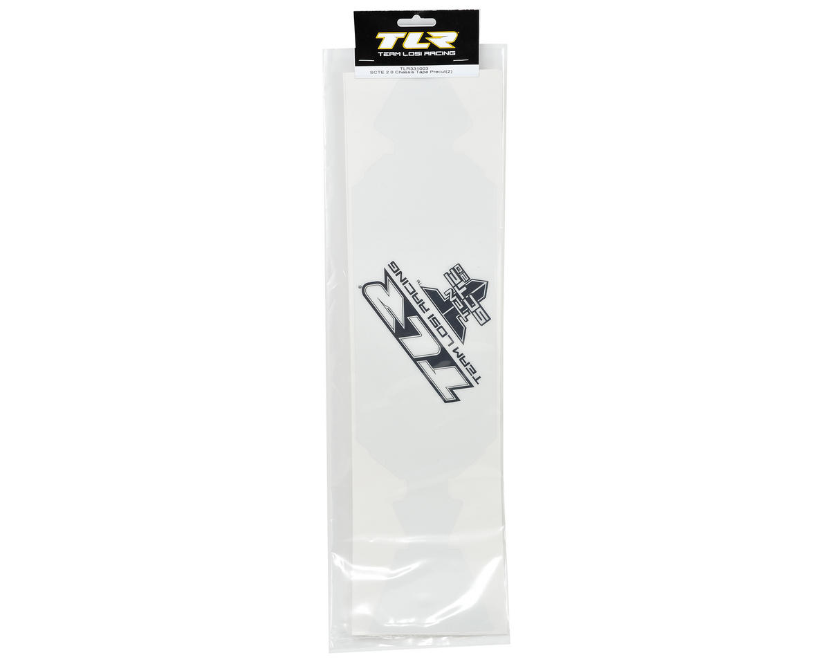 SCTE 2.0 Precut Chassis Protective Sheet (2) by Team Losi Racing