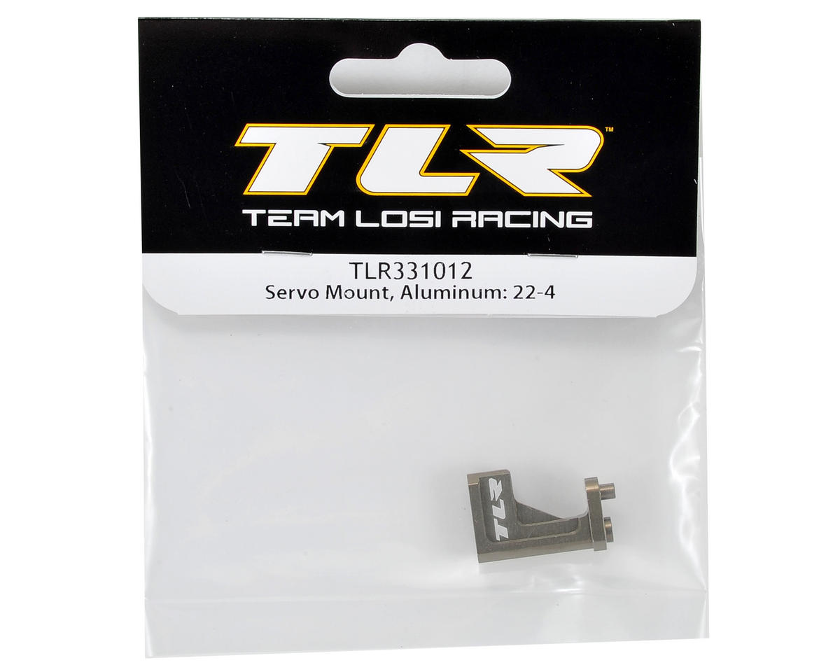 Team Losi Racing 22-4 Aluminum Servo Mount
