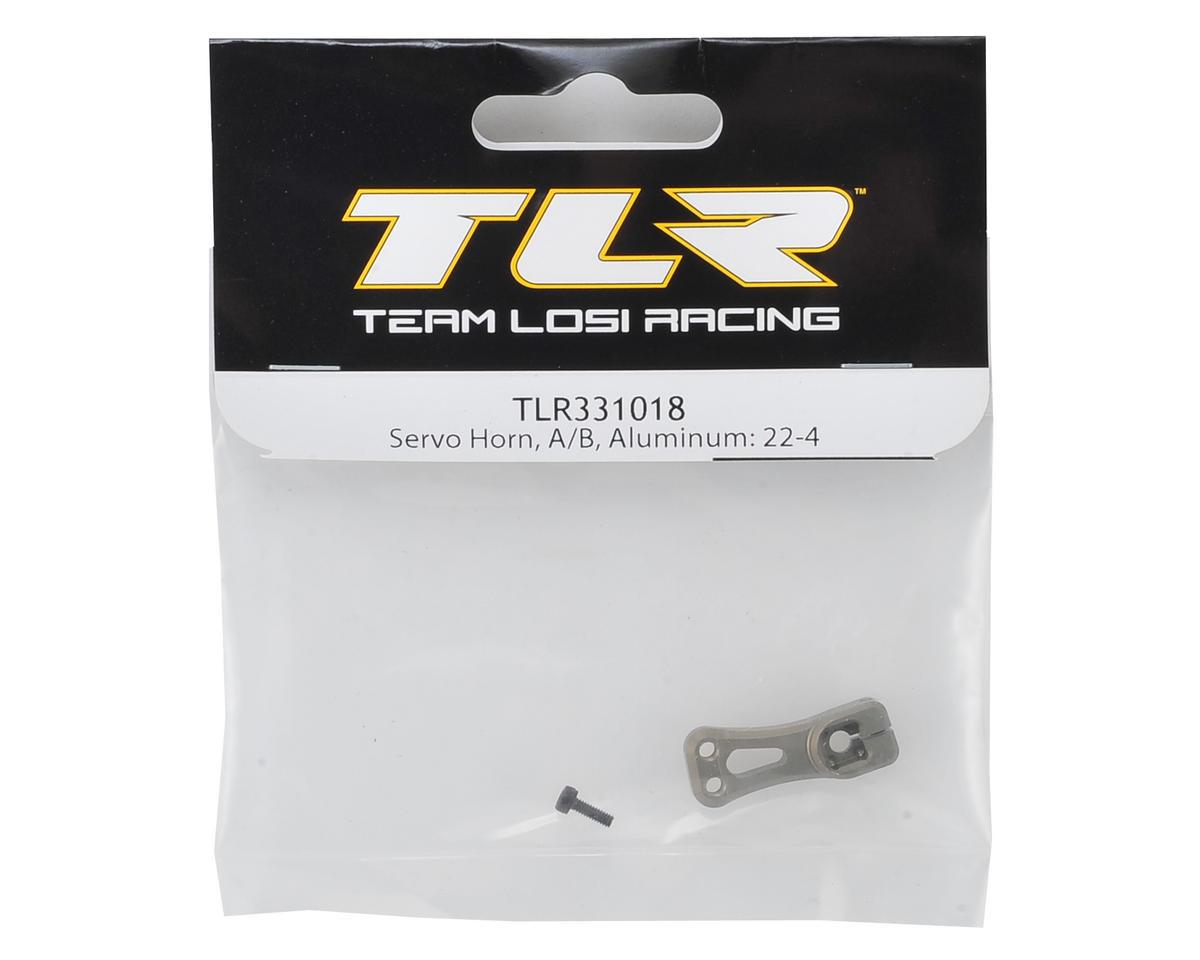 Team Losi Racing 22-4 Aluminum A/B Servo Horn