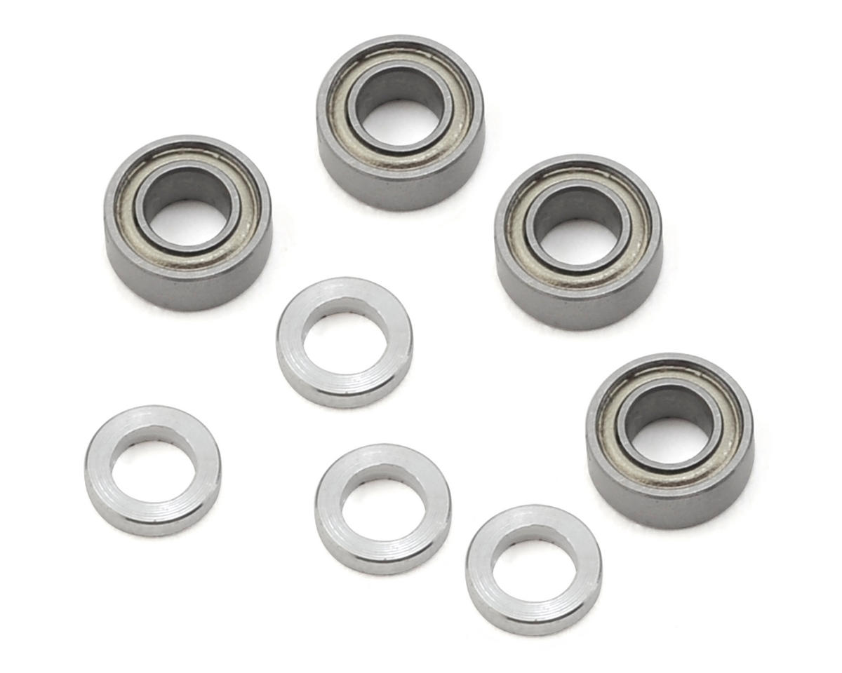 Team Losi Racing 22 Aluminum Bellcrank Bearing & Spacer Set