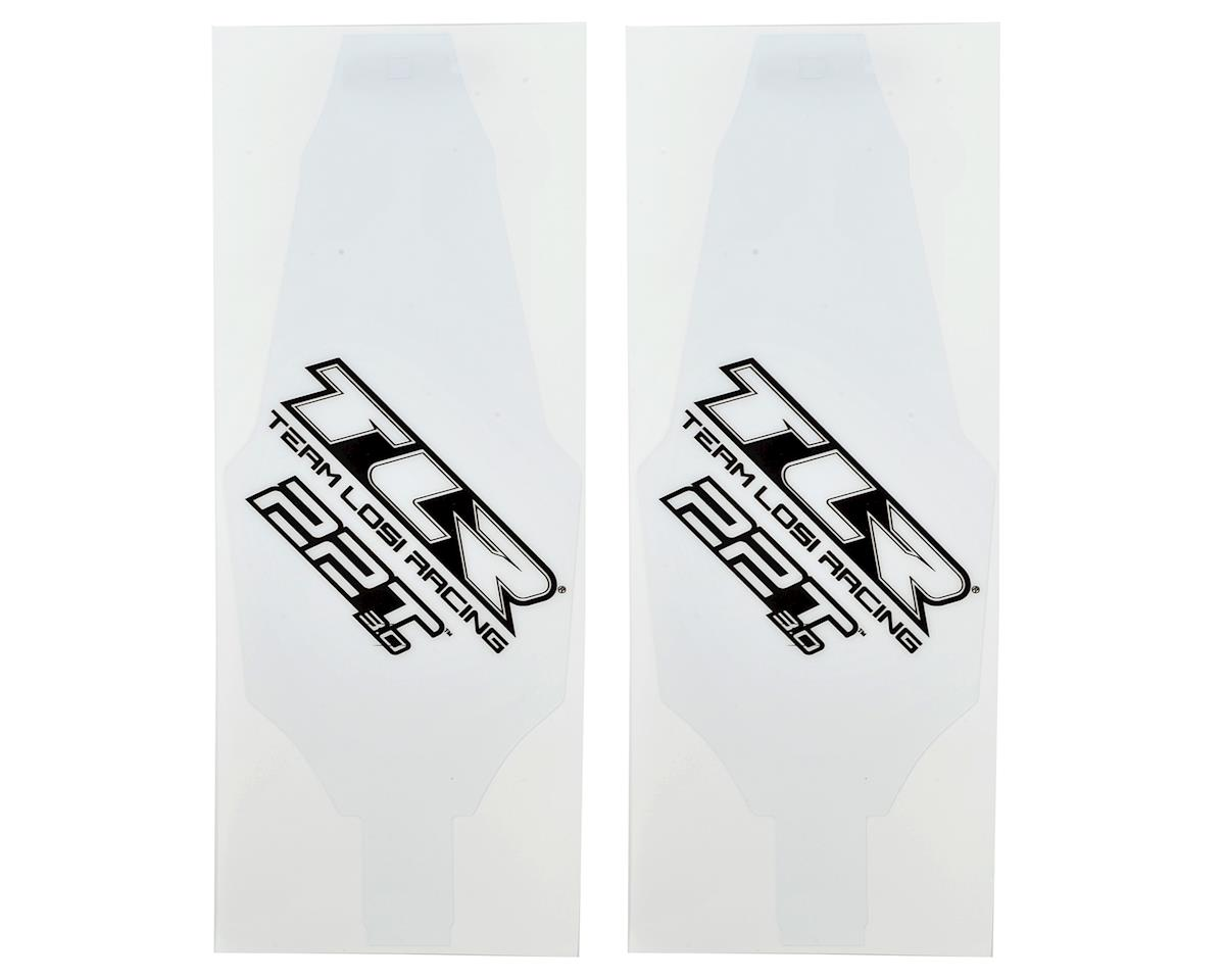 Team Losi Racing 22T 3.0 Chassis Protective Tape Precut (2)