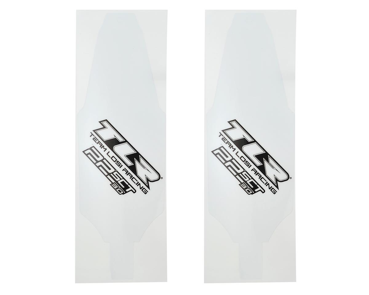 22SCT 3.0 Chassis Protective Tape Precut (2) by Team Losi Racing