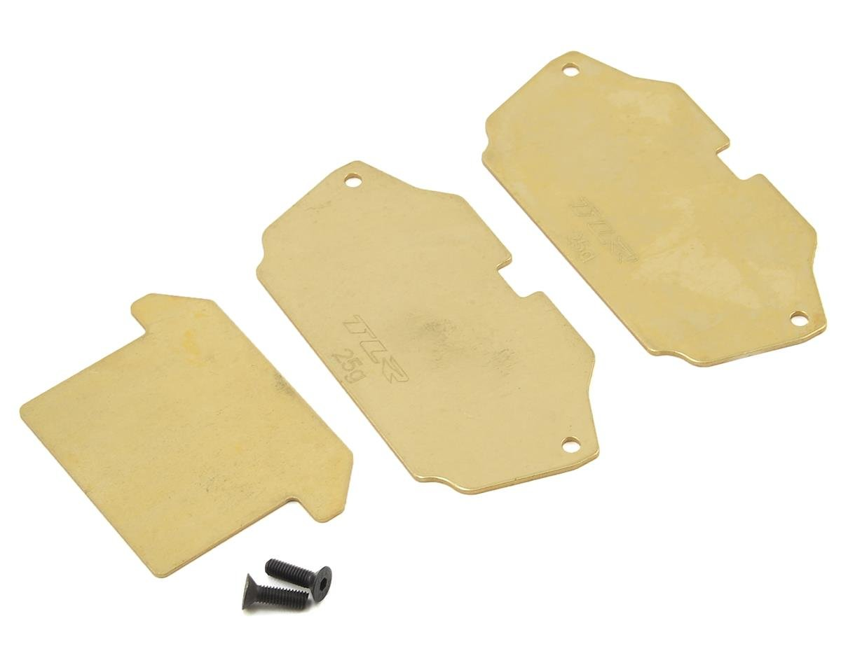 22 4.0 Forward Brass Plate Set by Team Losi Racing