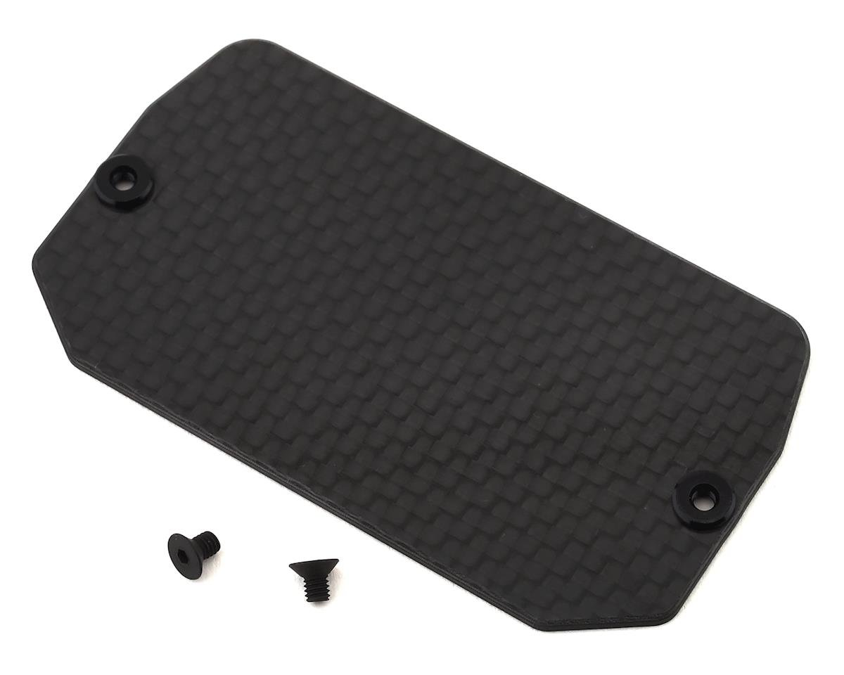 Team Losi 22 5.0 AC Racing Carbon Fiber Electronics Mounting Plate