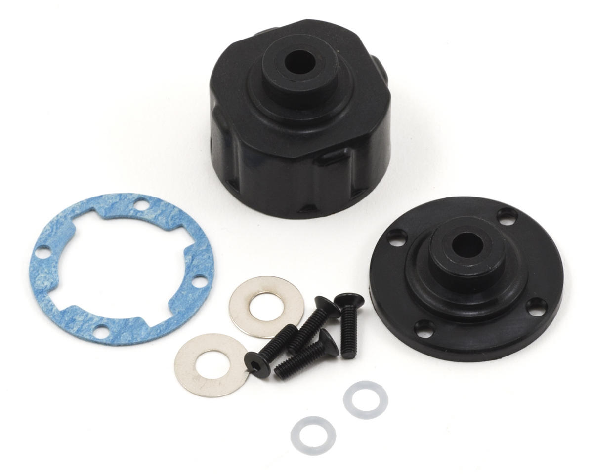 Team Losi TEN-SCTE Racing HD Differential Housing w/Integrated Insert