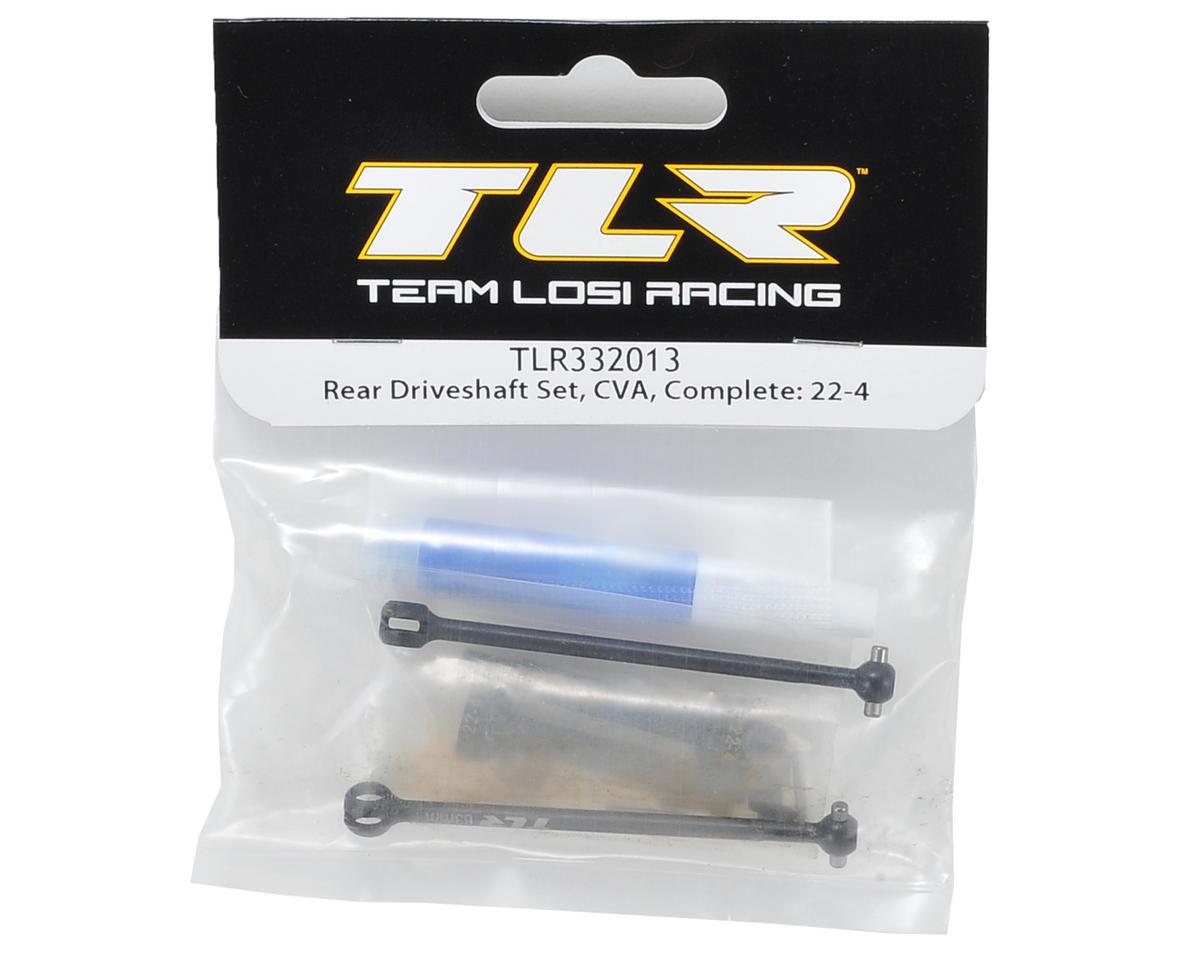 Team Losi Racing 63mm Rear CVA Driveshaft Set