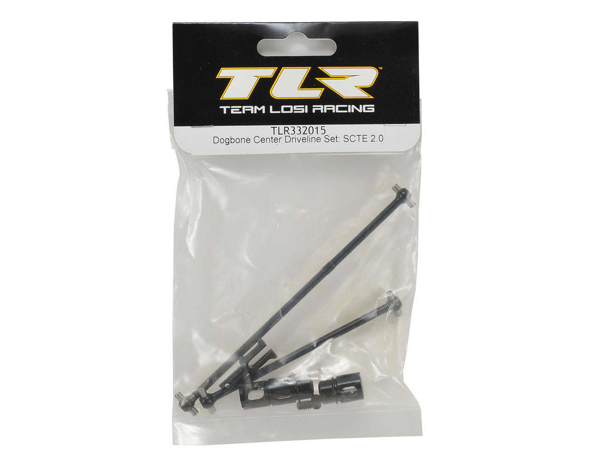 Team Losi Racing TEN-SCTE 2.0 Center Dogbone Driveline Set