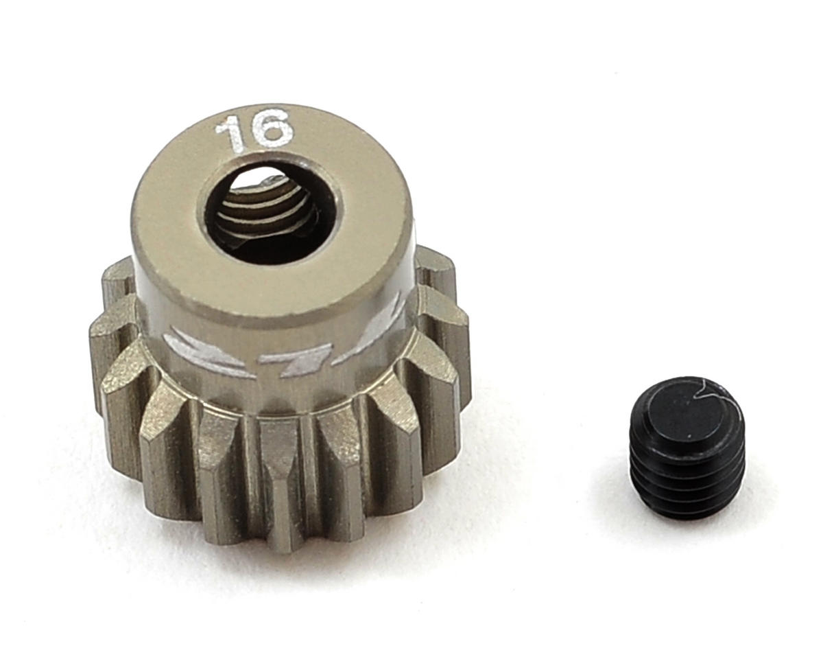 Team Losi Racing Aluminum 48P Pinion Gear (16T)