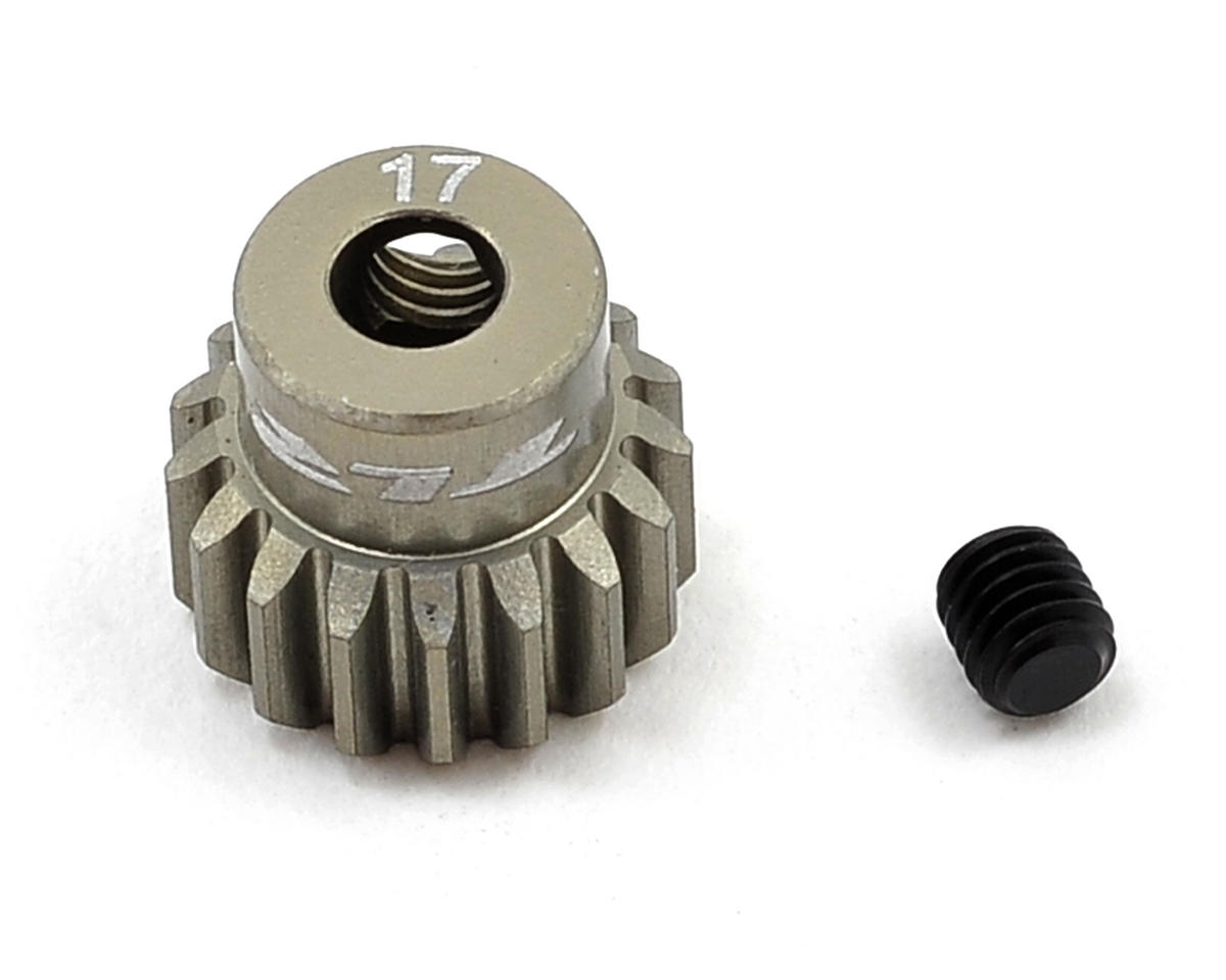 Aluminum 48P Pinion Gear (3.17mm Bore) (17T) by Team Losi Racing