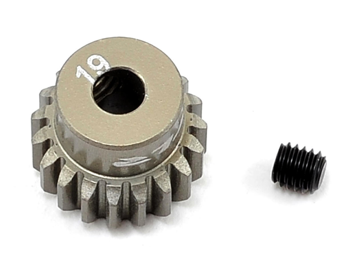Aluminum 48P Pinion Gear (19T) by Team Losi Racing