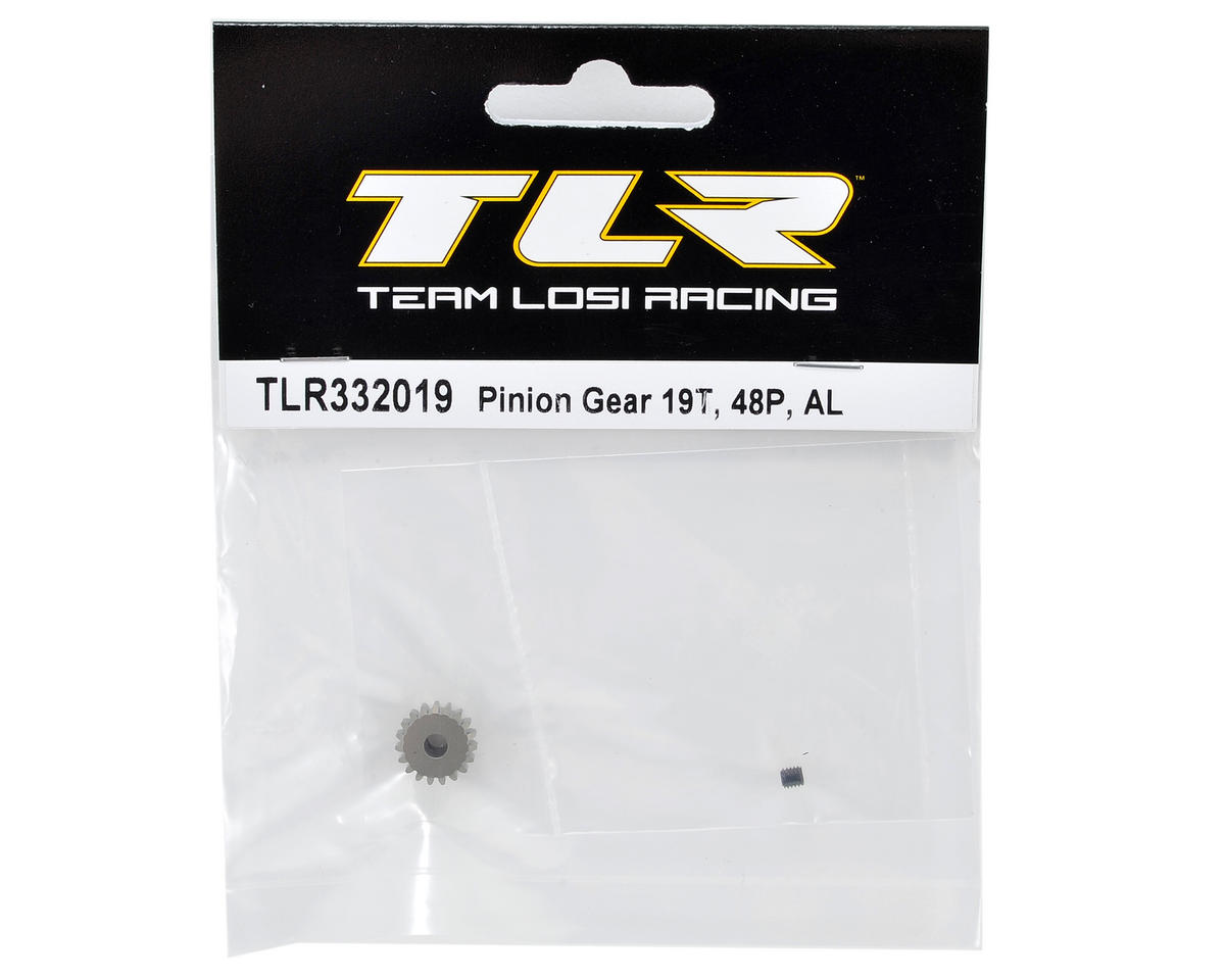 Team Losi Racing Aluminum 48P Pinion Gear (3.17mm Bore) (19T)