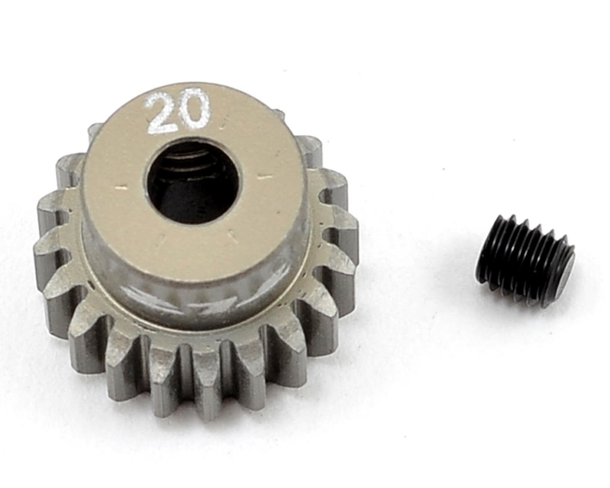 Team Losi Racing Aluminum 48P Pinion Gear (3.17mm Bore) (20T)