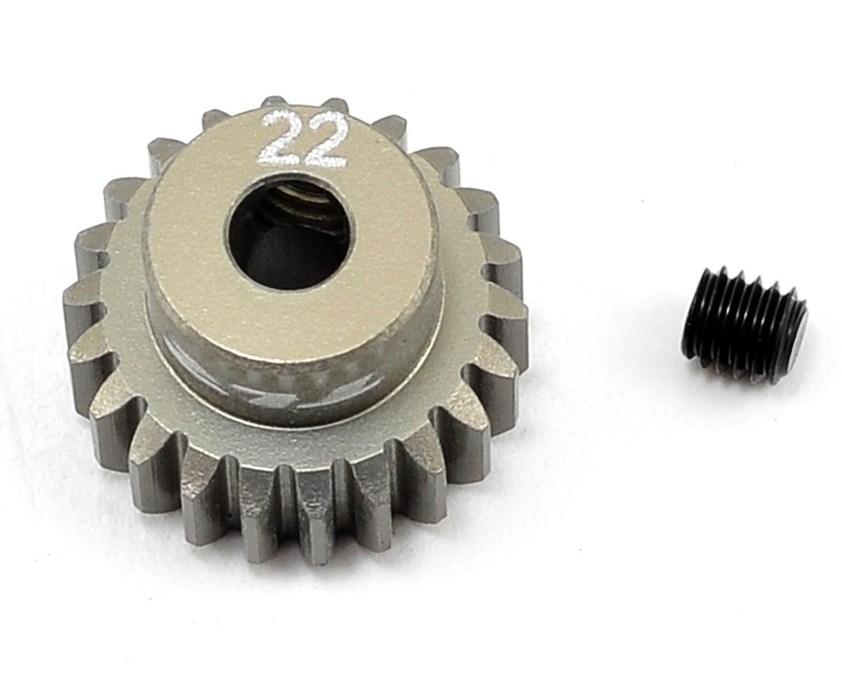 Team Losi Racing Aluminum 48P Pinion Gear (3.17mm Bore) (22T)