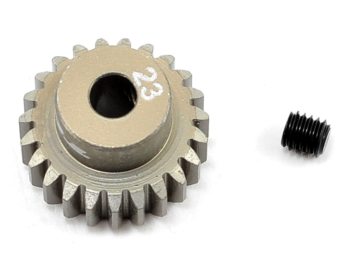 Aluminum 48P Pinion Gear (3.17mm Bore) (23T) by Team Losi Racing