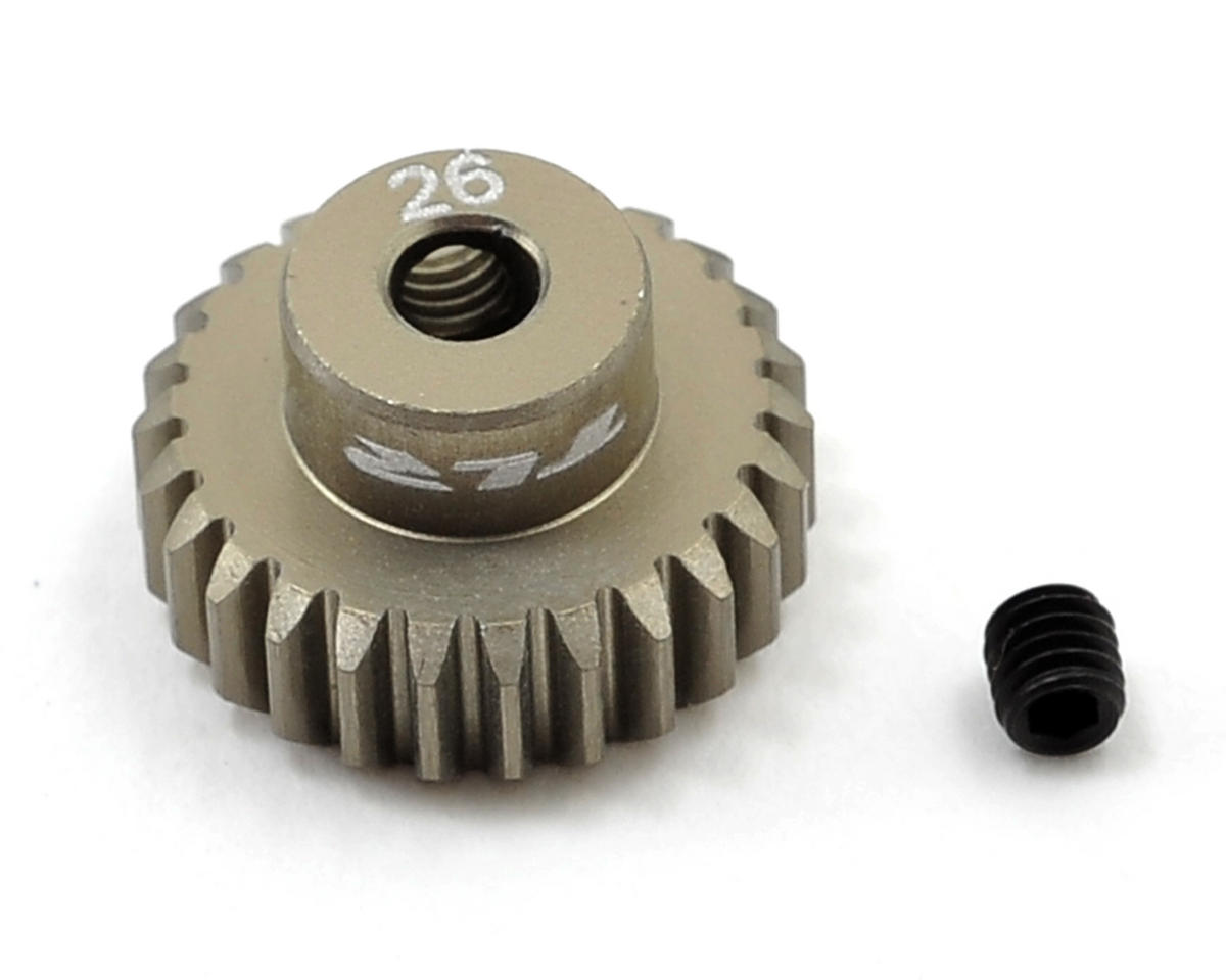 Team Losi Racing Aluminum 48P Pinion Gear (3.17mm Bore) (26T)