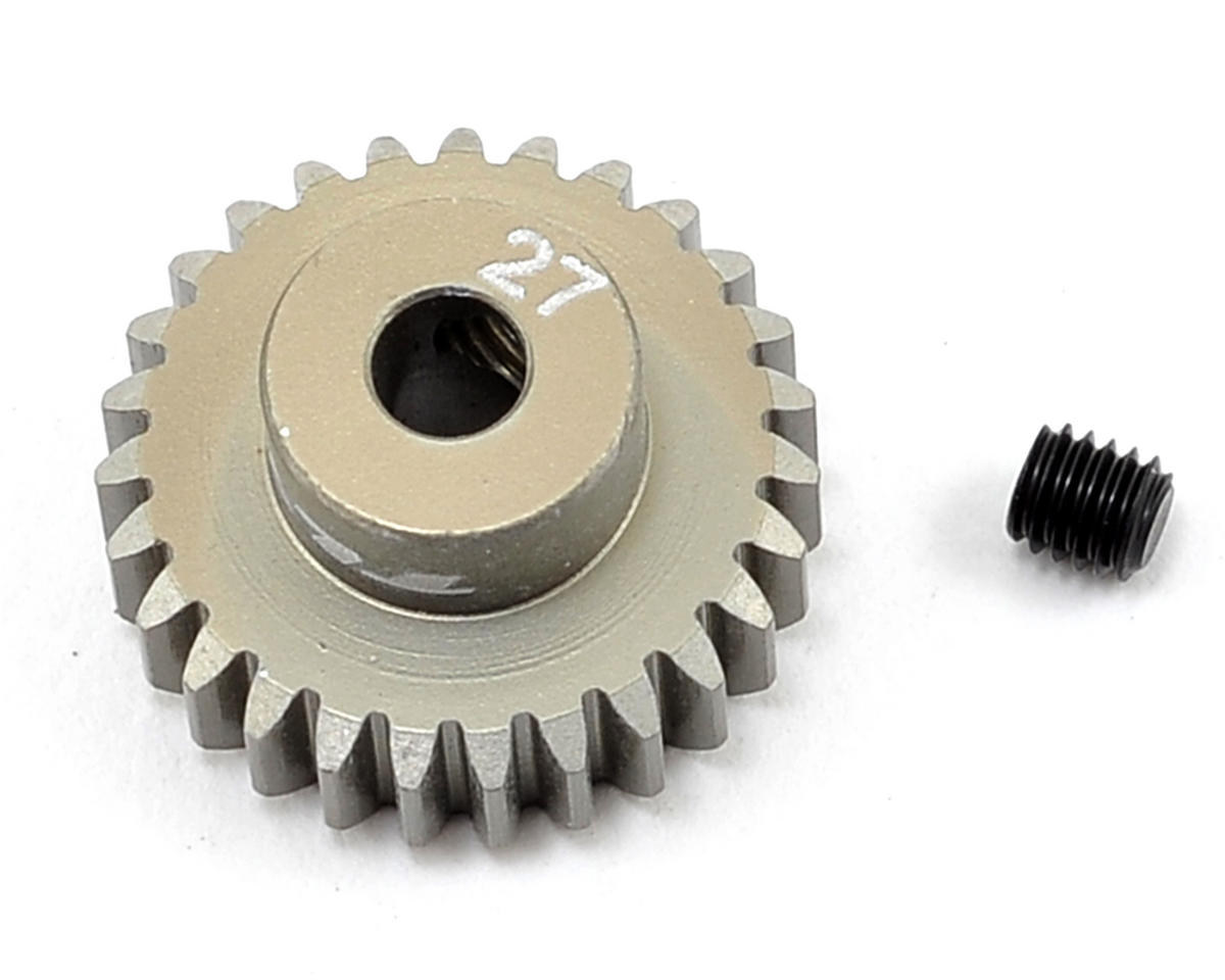 Aluminum 48P Pinion Gear (3.17mm Bore) (27T) by Team Losi Racing
