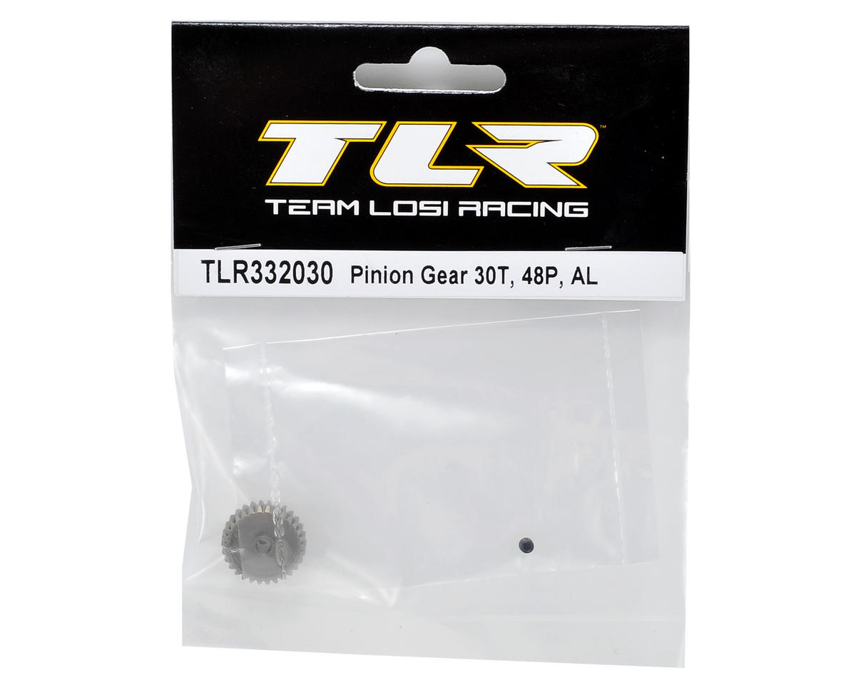 Team Losi Racing Aluminum 48P Pinion Gear (30T)