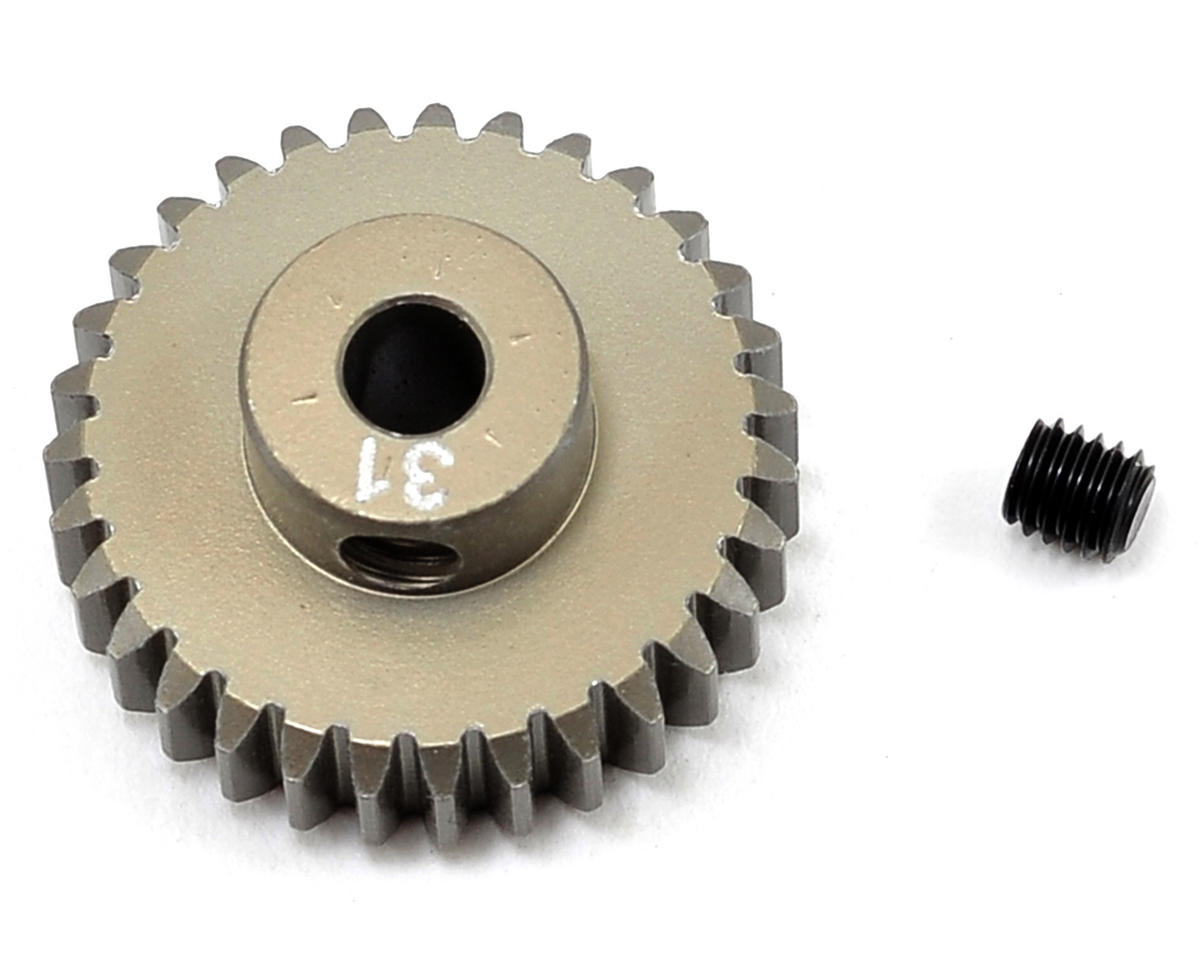 Aluminum 48P Pinion Gear (3.17mm Bore) (31T) by Team Losi Racing