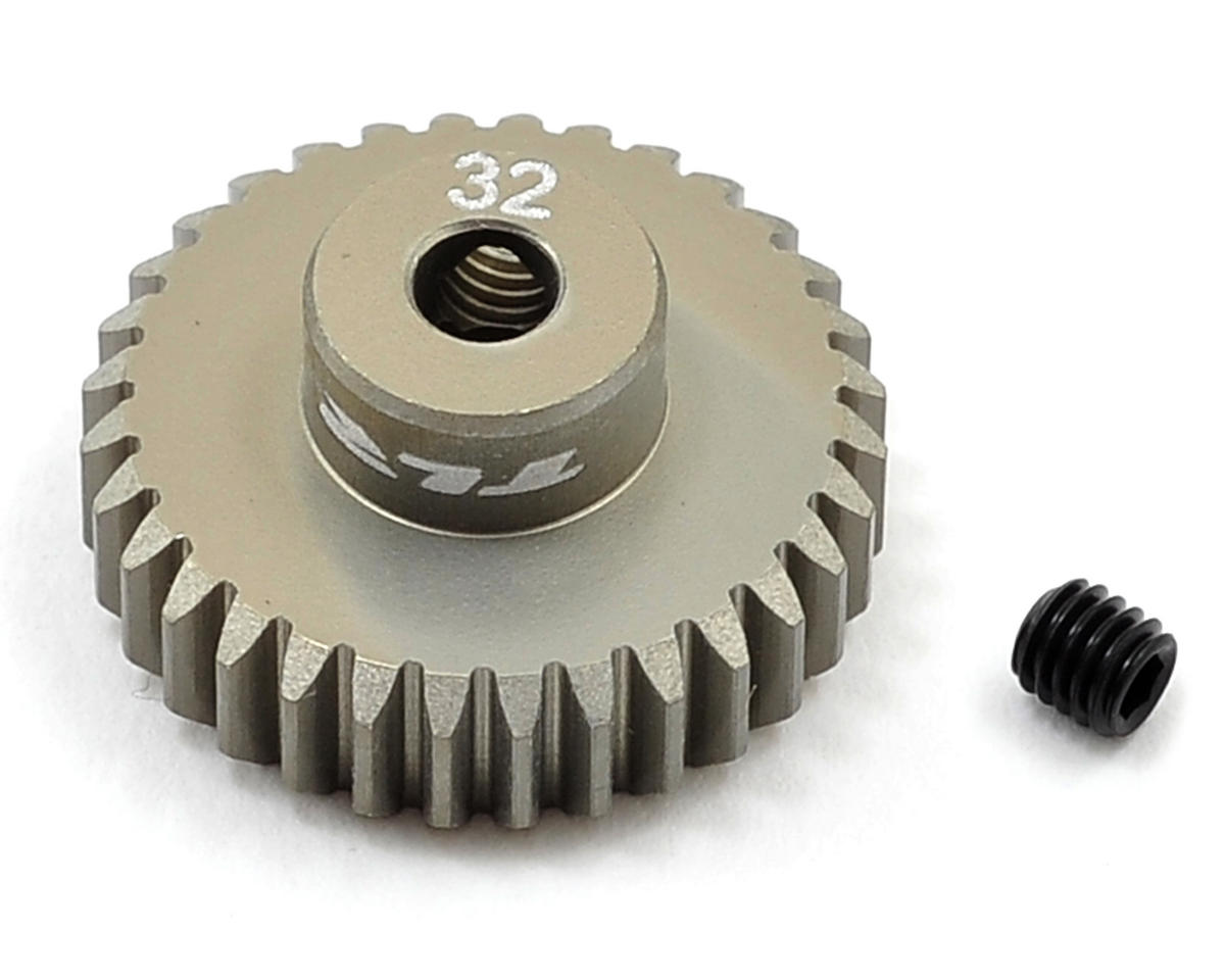 Aluminum 48P Pinion Gear (3.17mm Bore) (32T) by Team Losi Racing