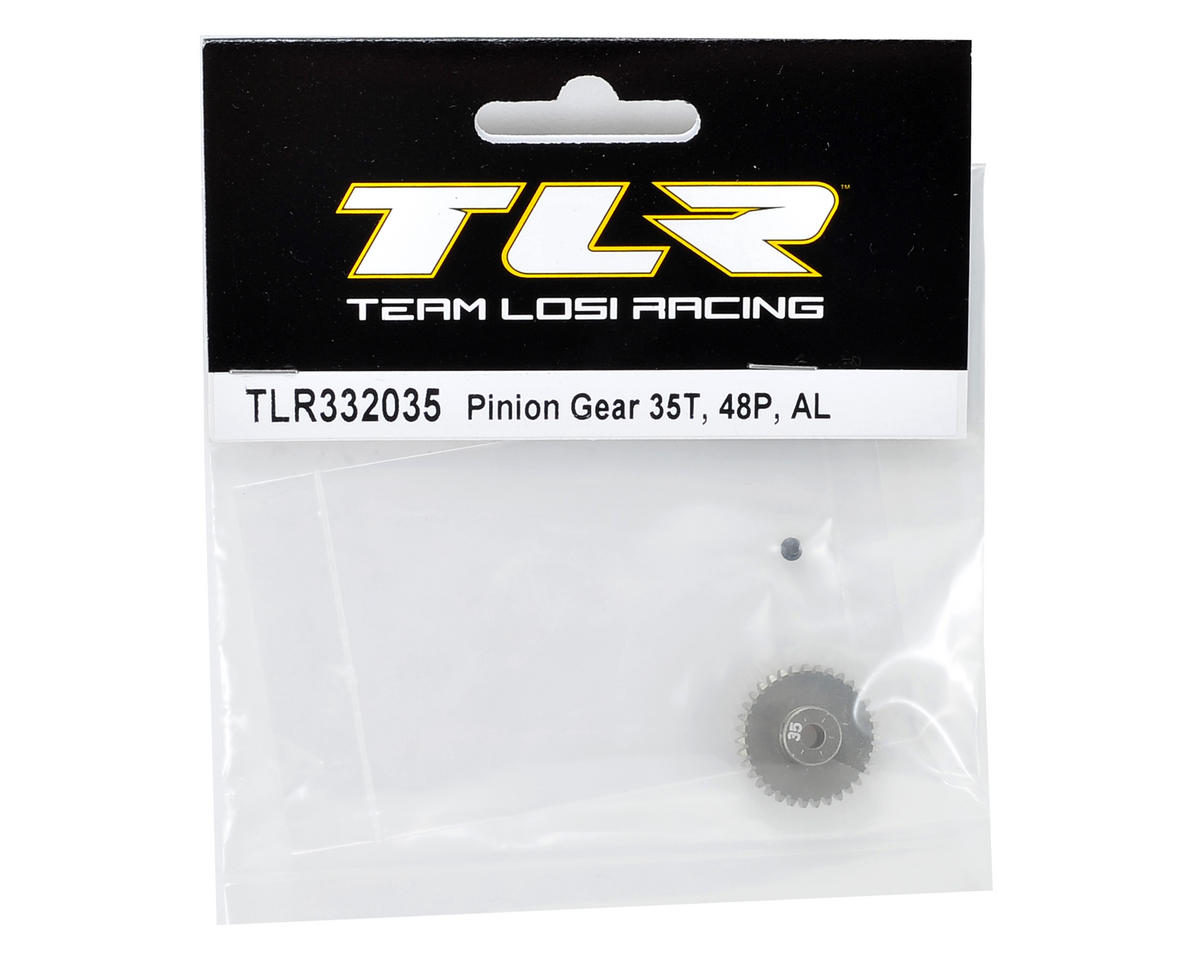 Team Losi Racing Aluminum 48P Pinion Gear (3.17mm Bore) (35T)