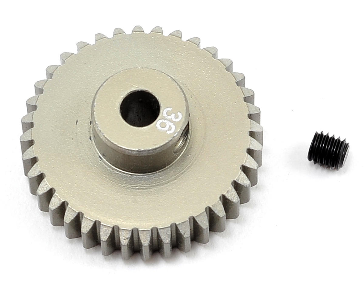 Team Losi Racing Aluminum 48P Pinion Gear (3.17mm Bore) (36T)