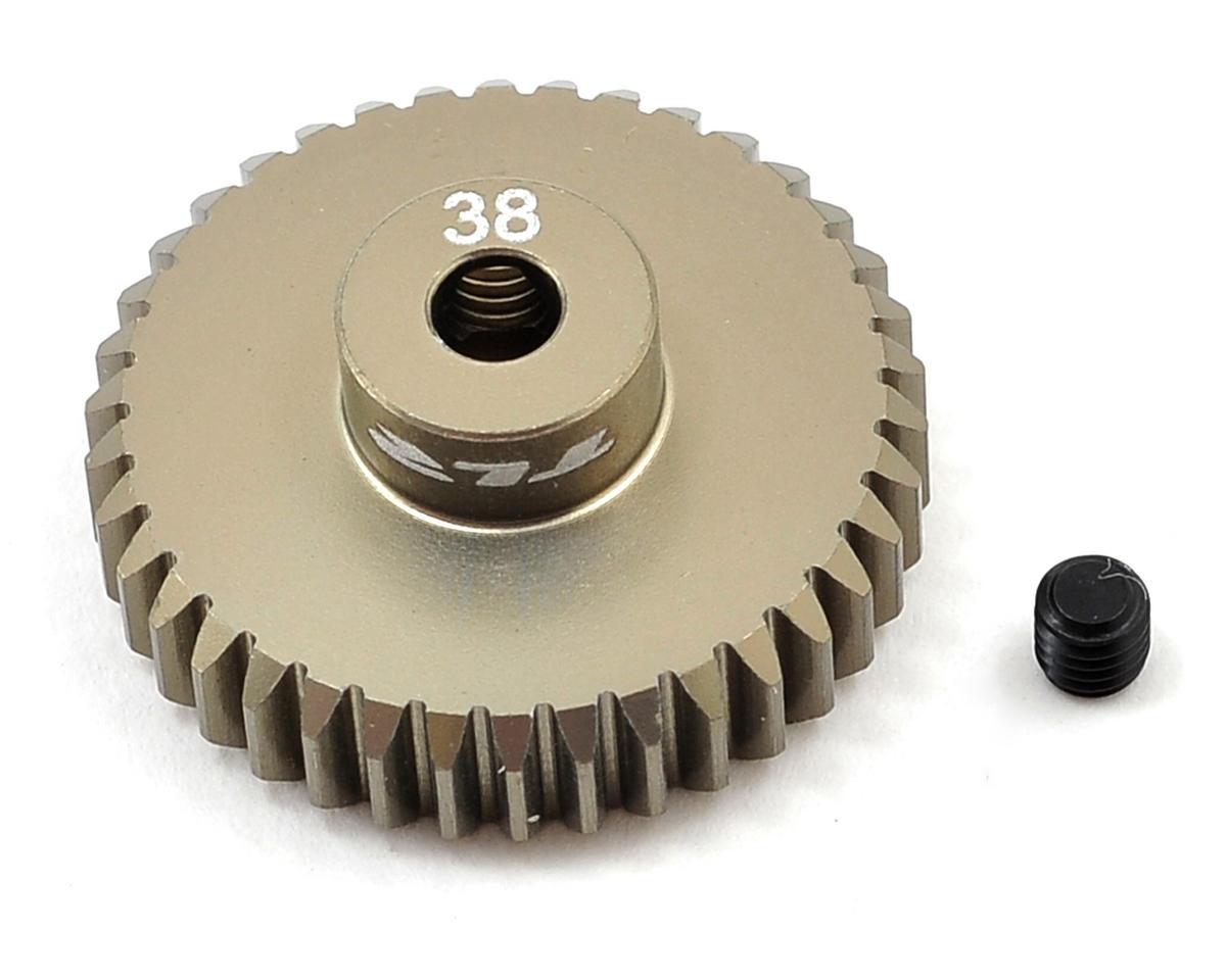 Team Losi Racing Aluminum 48P Pinion Gear (38T)