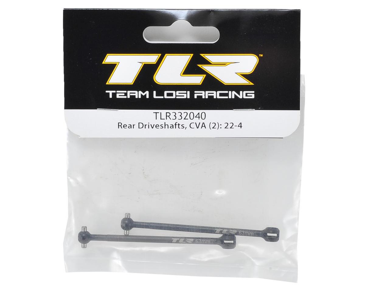 Team Losi Racing 63mm Rear CVA Driveshaft (2)