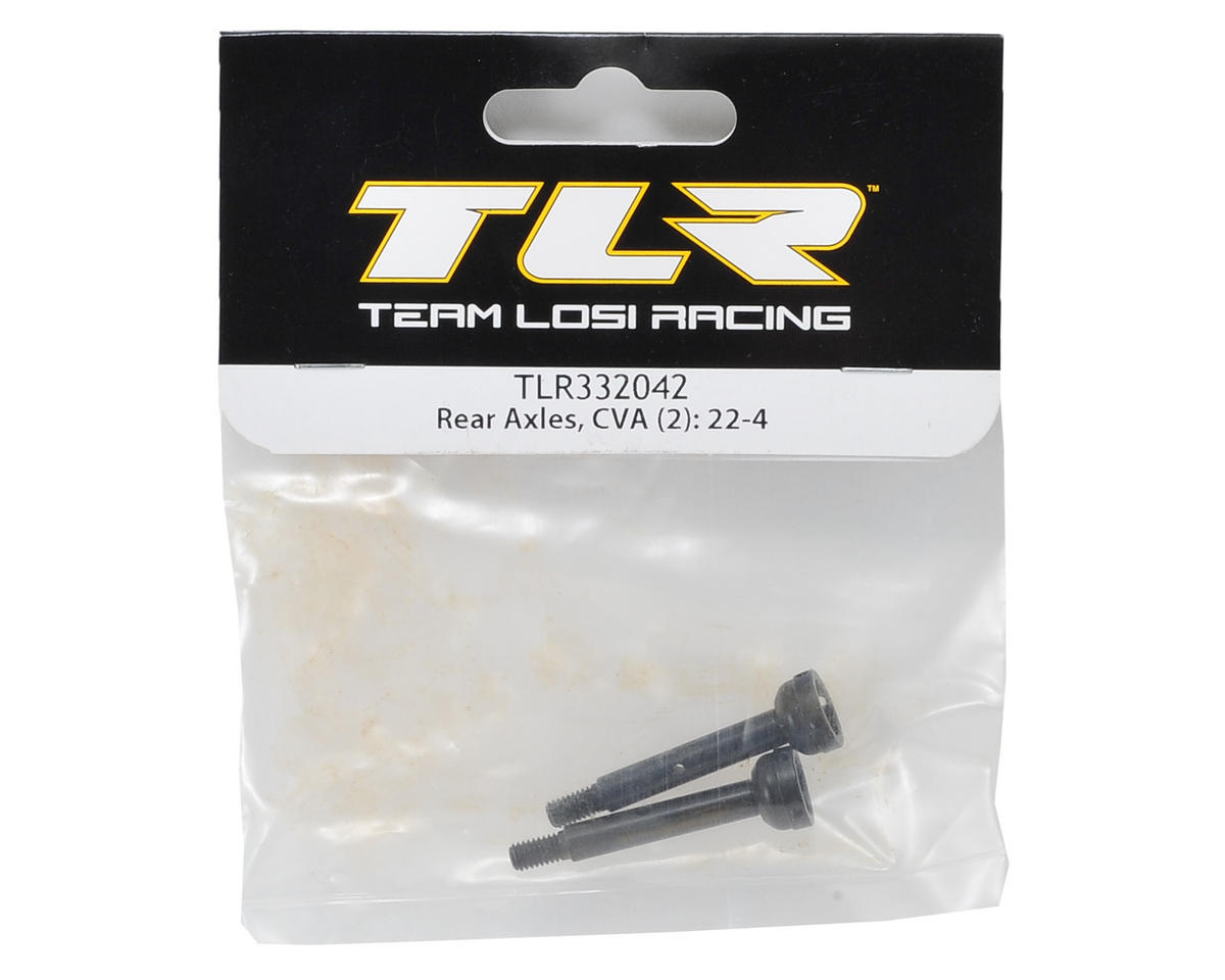 Team Losi Racing 22-4 CVA Rear Axle (2)