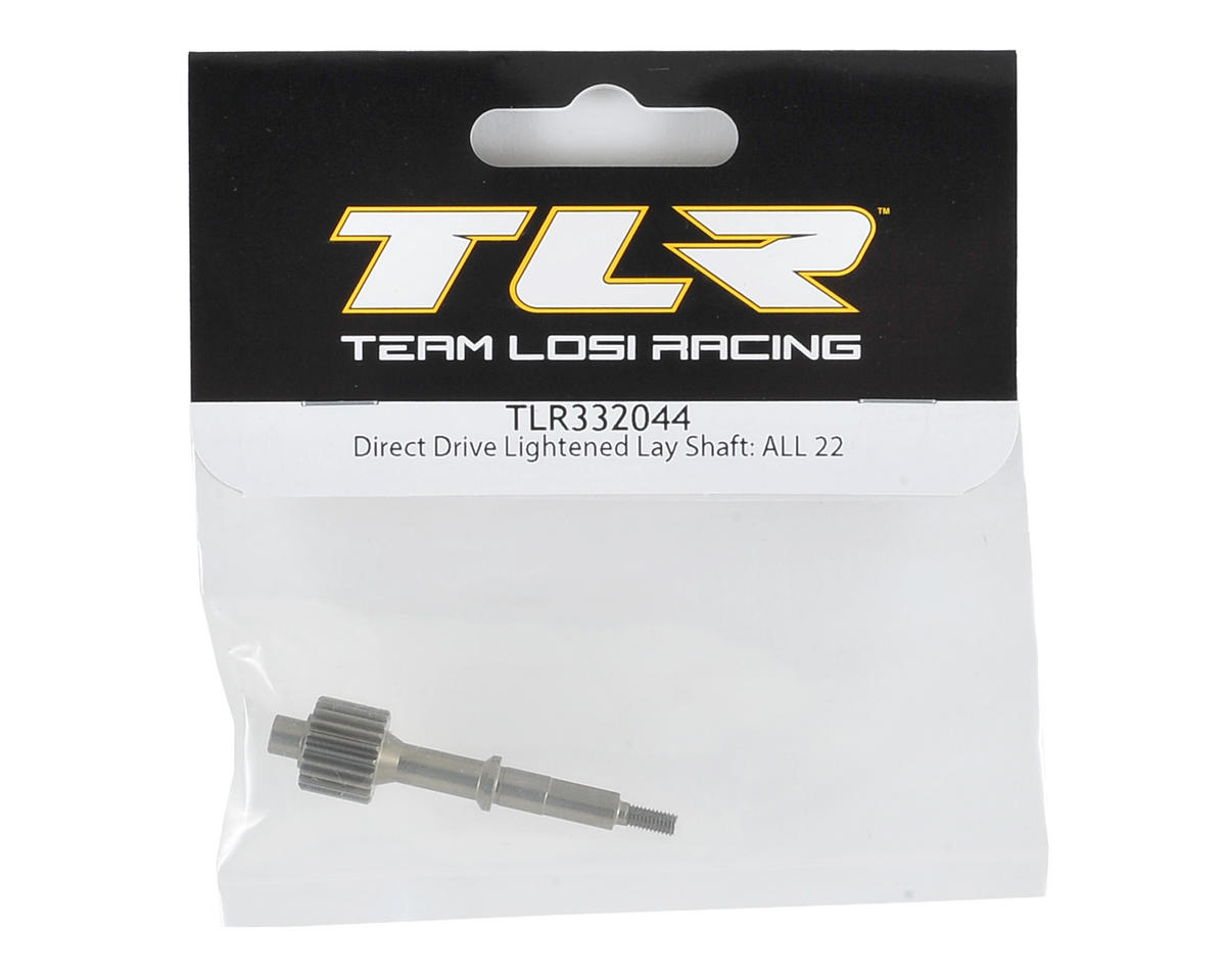Team Losi Racing Direct Drive Aluminum Lightened Lay Shaft