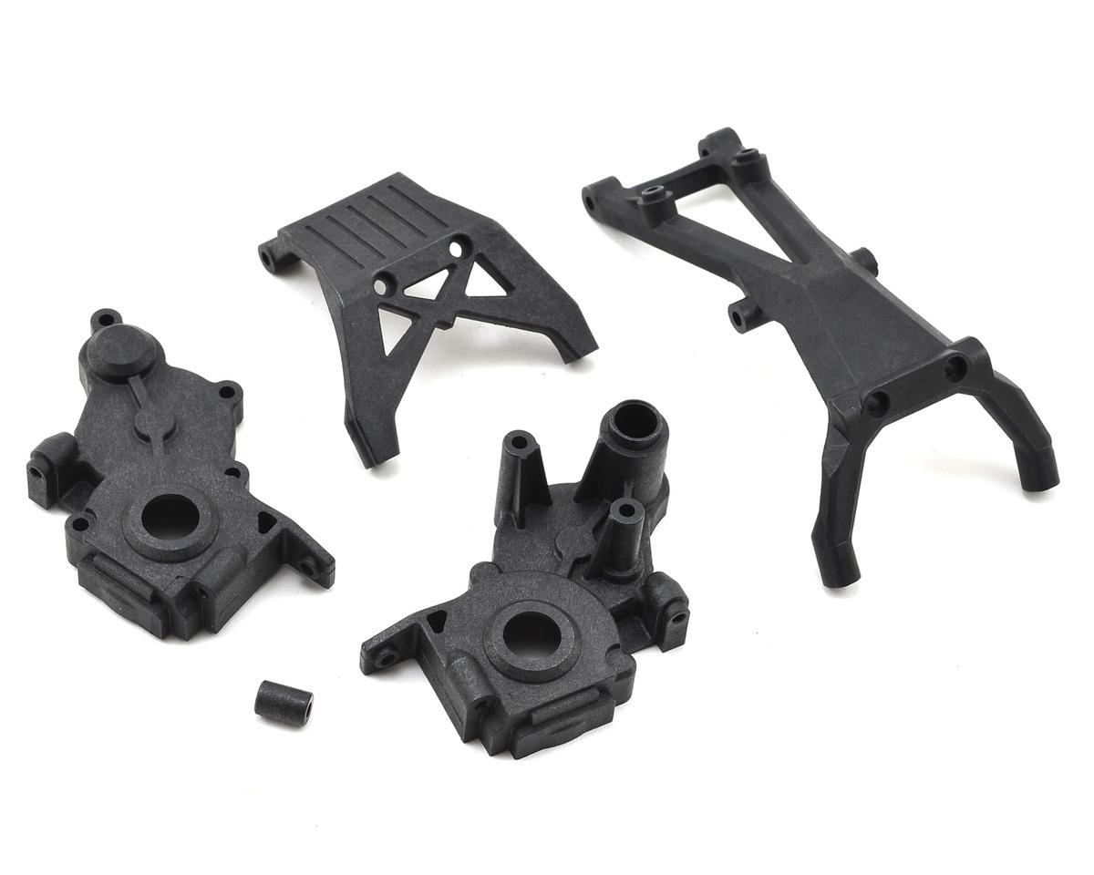 Team Losi Racing 22 2.0 3-Gear Gearbox & Brace Set
