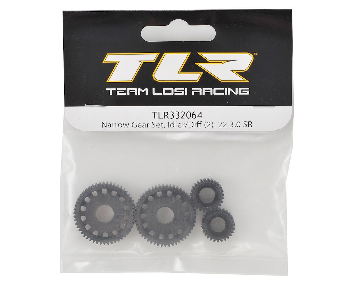 Team Losi Racing 22 3.0 SPEC-Racer Narrow Gear Set