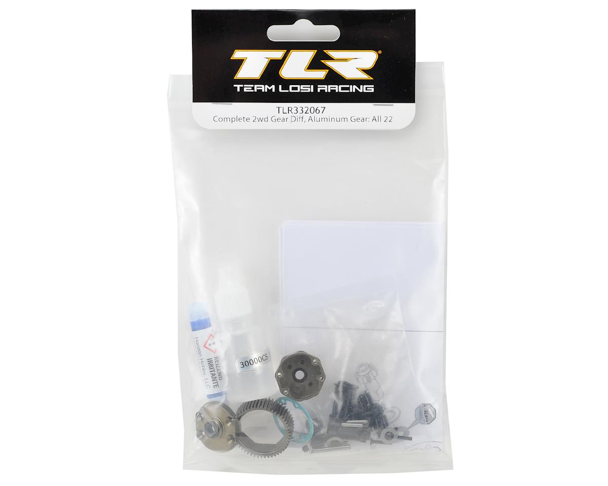 Team Losi Racing 22 3.0 Complete Aluminum Gear Differential