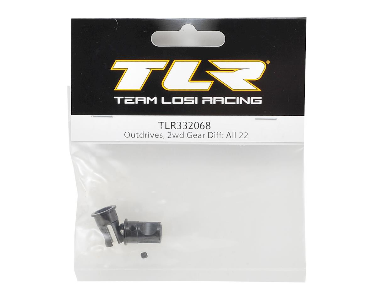 Team Losi Racing 2WD Gear Differential Outdrive (2) (All 22 Vehicles)