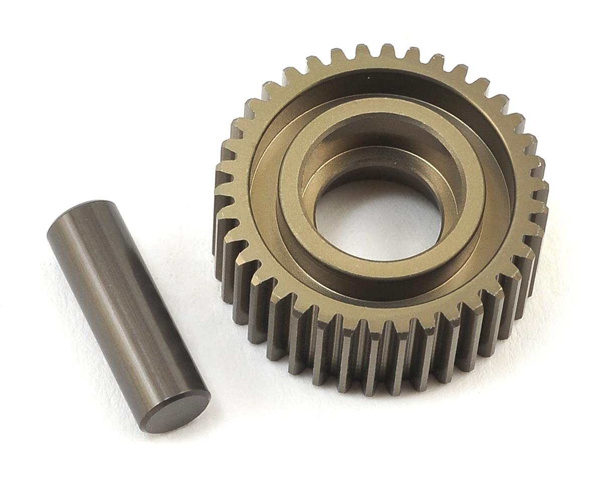 22 4.0 Aluminum Laydown Idler Gear & Shaft by Team Losi Racing