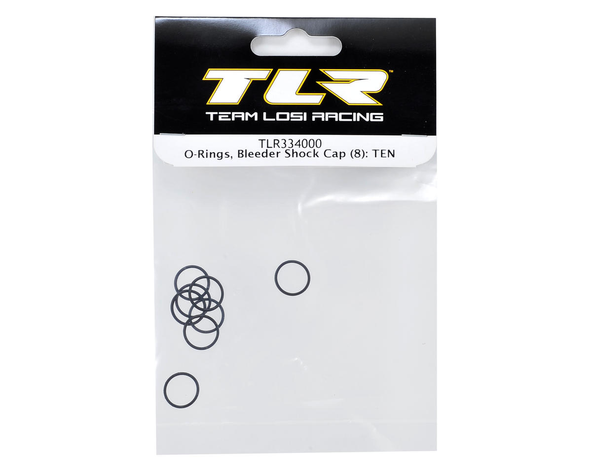 Team Losi Racing Bleeder Shock Cap O-Ring (8)