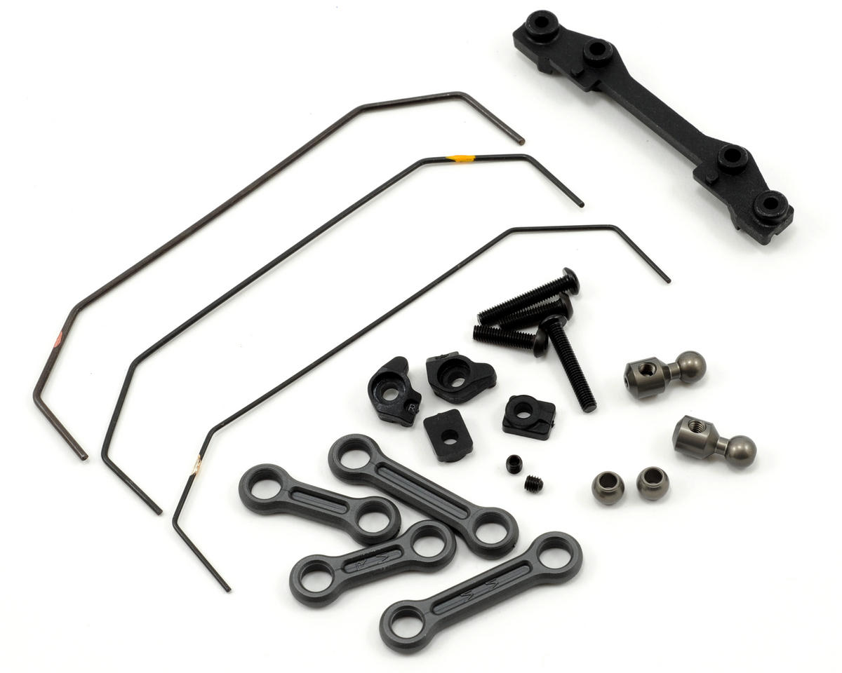 Team Losi Racing Rear Sway Bar Kit