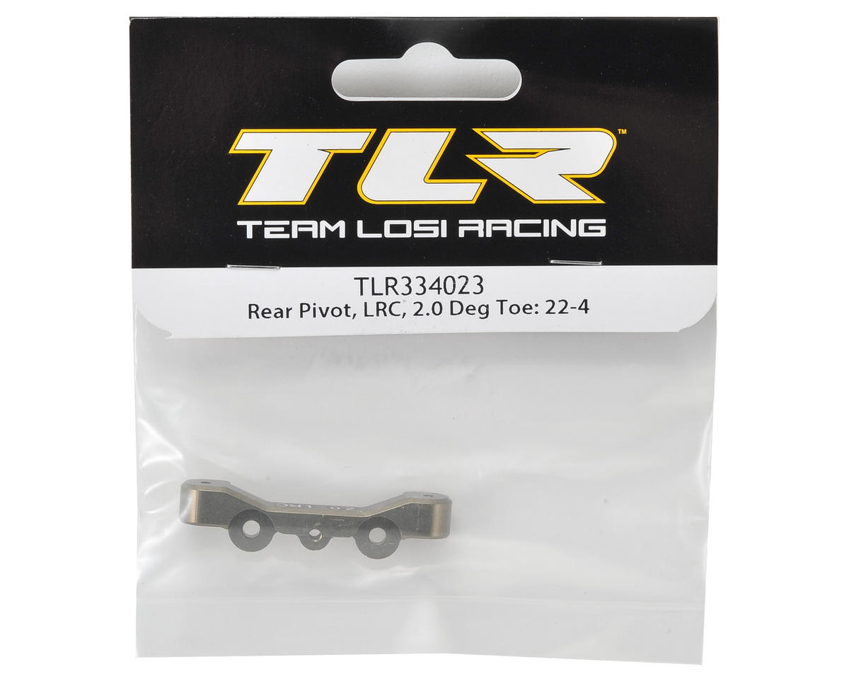 Team Losi Racing 22-4 LRC Rear Pivot w/2.0° Toe
