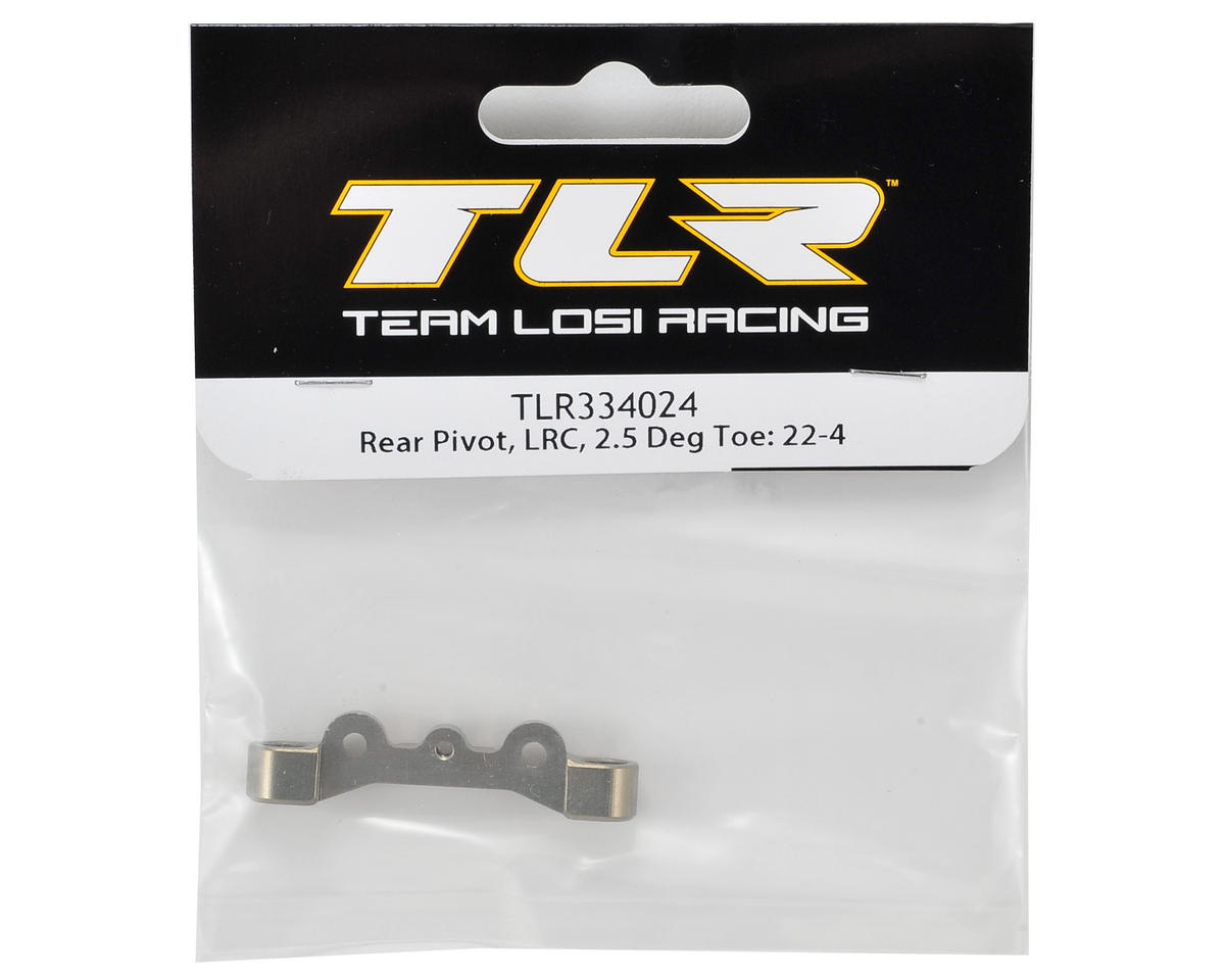 Team Losi Racing 22-4 LRC Rear Pivot w/2.5° Toe