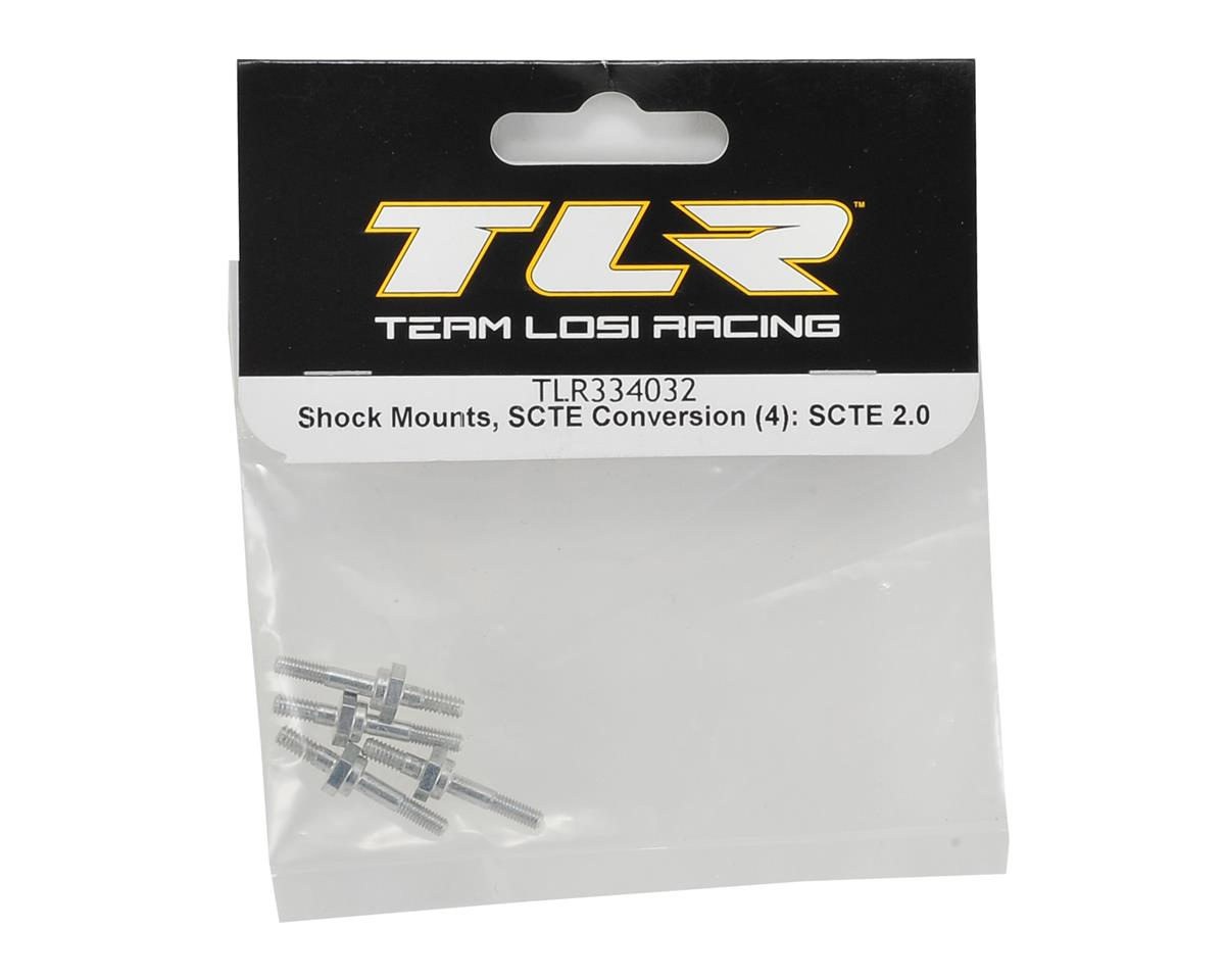 Team Losi Racing SCTE to 22 Conversion Shock Mounts (4)