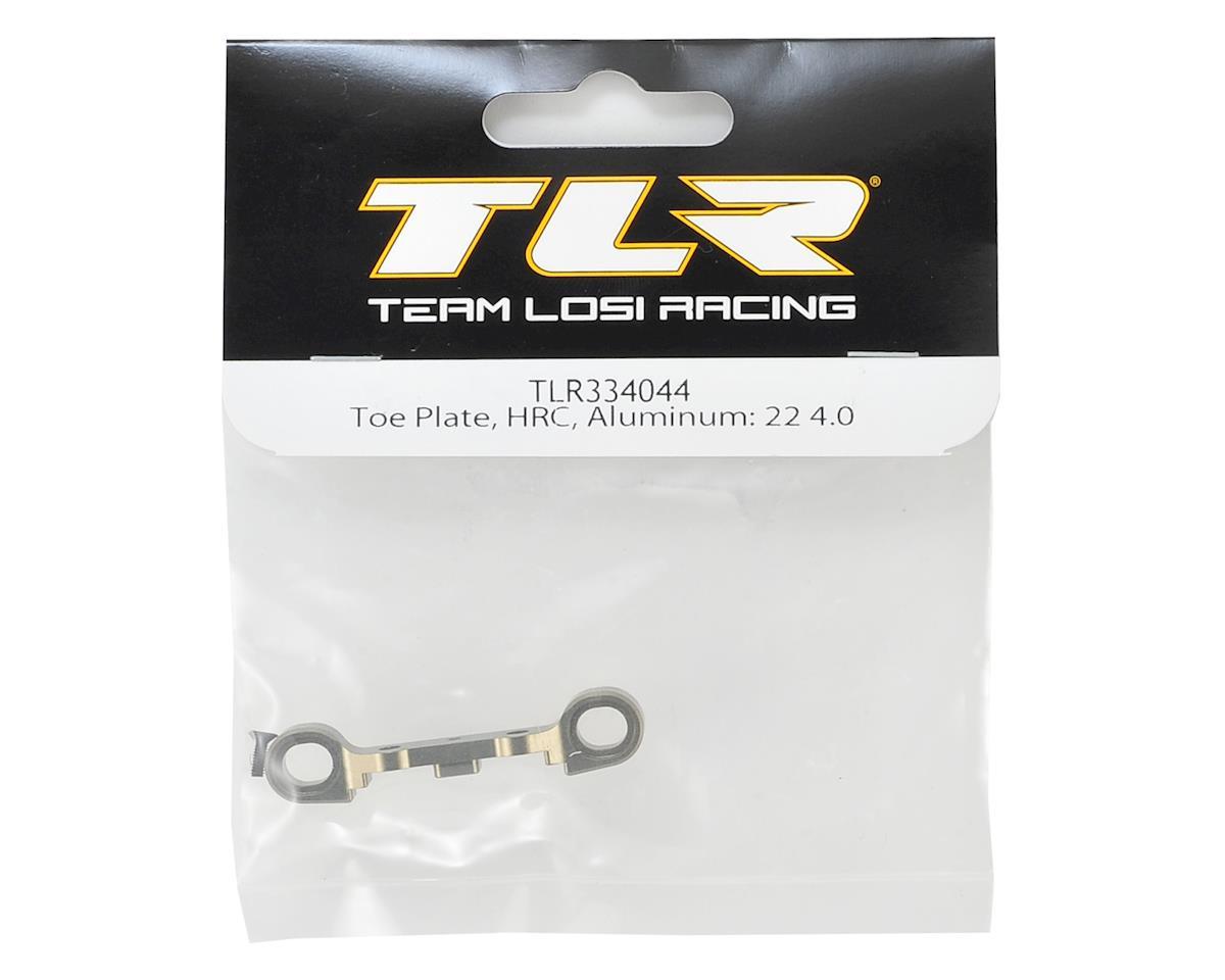 Team Losi Racing 22 4.0 Aluminum HRC Toe Plate