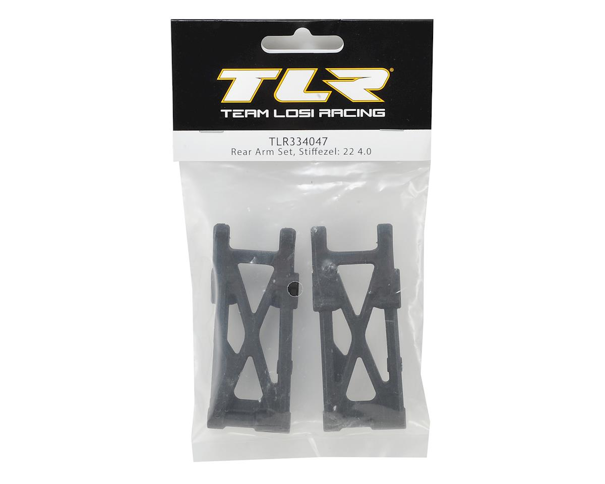 Team Losi Racing 22 4.0 Stiffezel Rear Arm Set