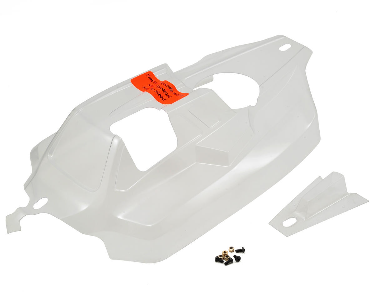 8IGHT 3.0 Cab Forward Body (Clear) by Team Losi Racing