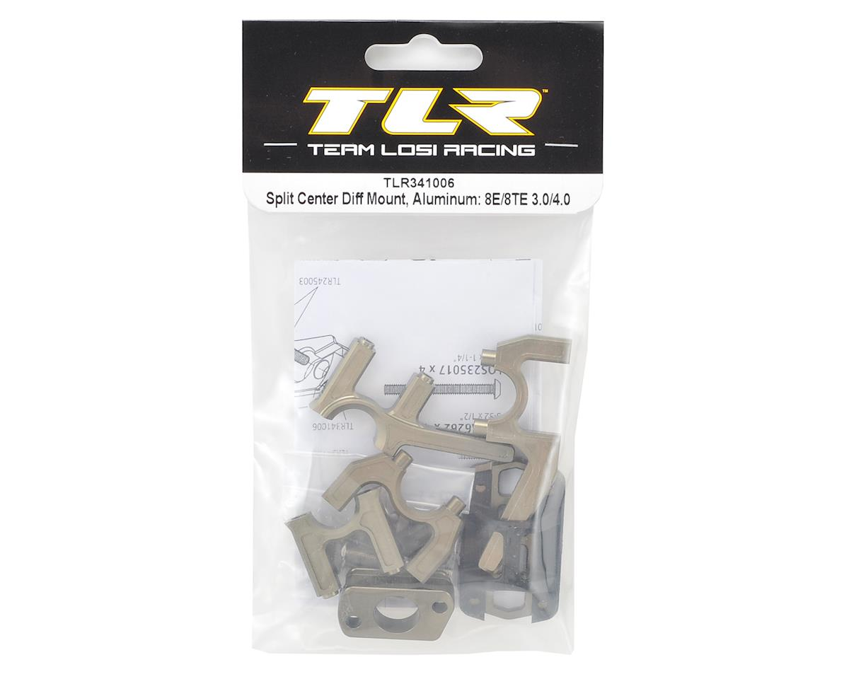 Team Losi Racing 8IGHT 8E/8TE 3.0/4.0 Aluminum Split Center Differential Mount