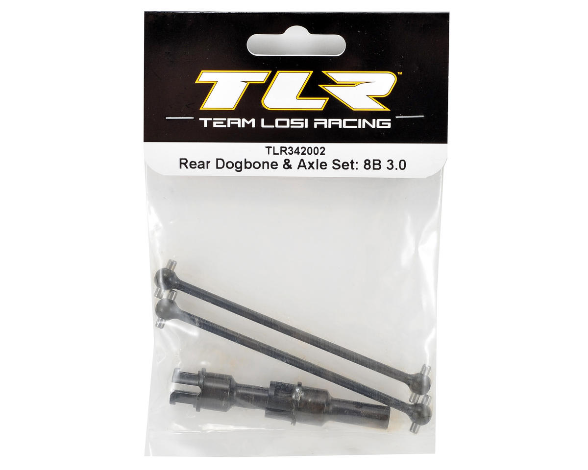 Team Losi Racing Rear Dogbone & Axle Set