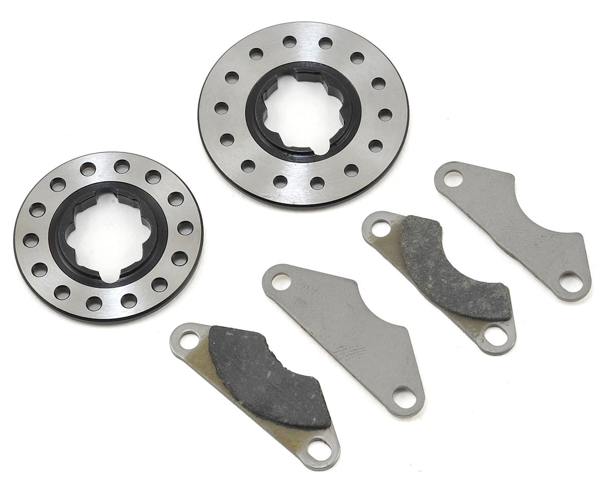 Team Losi Racing Heavy Duty Brake Pads & Disks